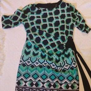 Dresses & Skirts - R&K NICE PRINT DRESS SIZE: M